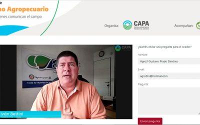 El CIPAG presente en el 1er Foro Nacional de Periodismo Agropecuario