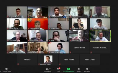 Encuentro entre miembros del CIPAG y autoridades de Coninagro por el Día del Periodista Agropecuario